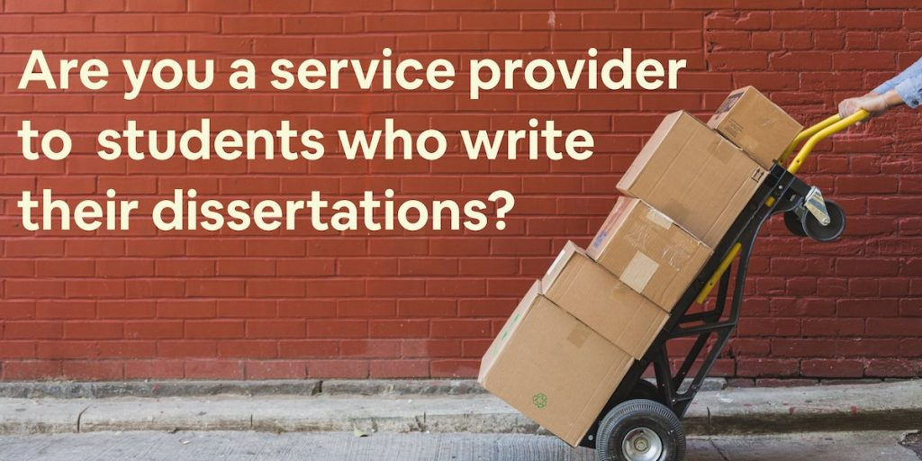 I want to become a service provider to students